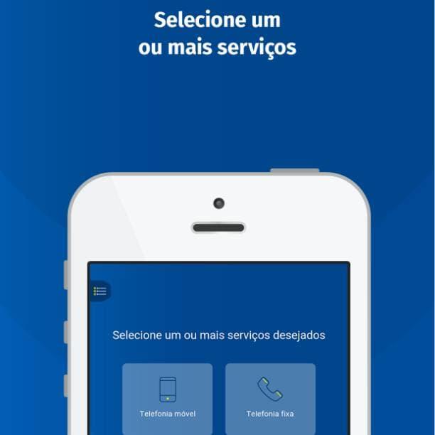 Aplicativo mobile comparador ANATEL texto outros serviços