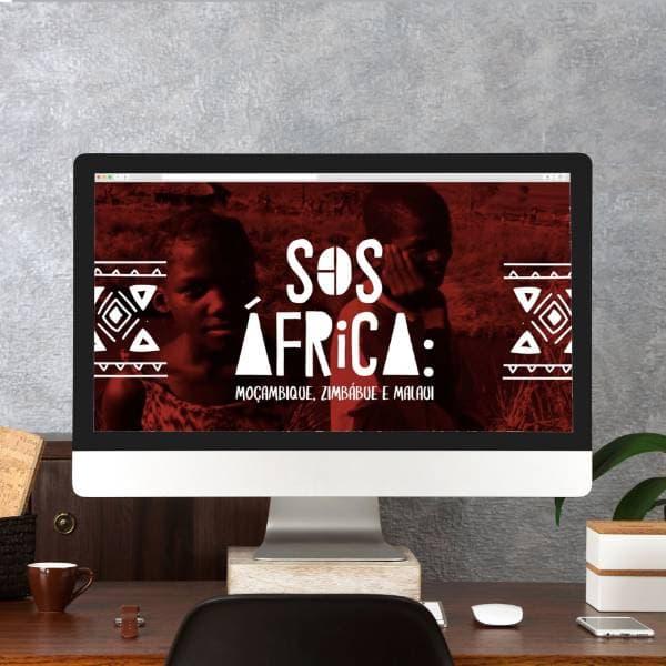 Campanha SOS África Caritas Brasileira Arte