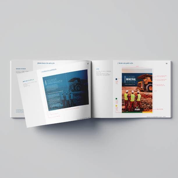 Manual da marca ANM - modelo de publicação