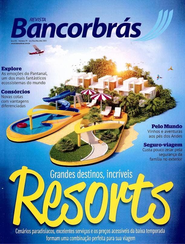 Capa impressa revista Bancorbrás edição 30