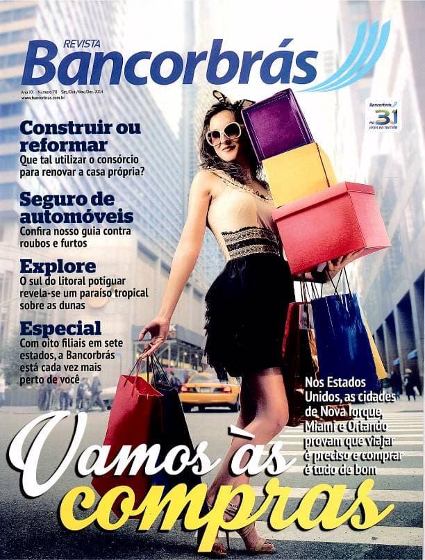 Capa impressa revista Bancorbrás edição 78