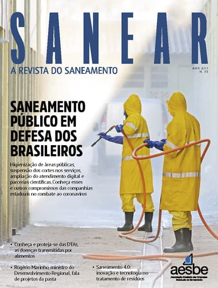 Revista SANEAR 35º - Saneamento público em defesa dos brasileiros