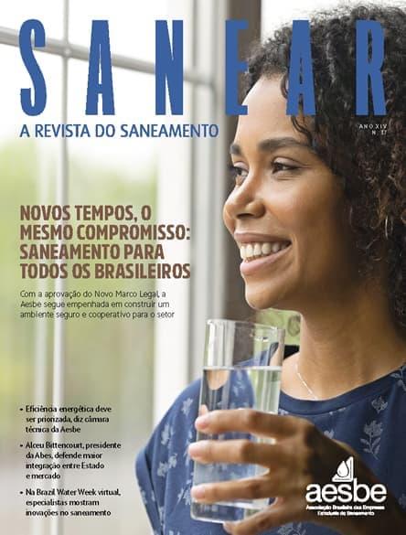 Revista SANEAR 37º - Novos tempos o mesmo compromisso: saneamento para todos os brasileiros