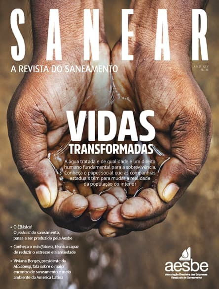 Revista SANEAR 38º - Vidas transformadas